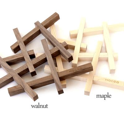 「Nest ネスト」本物の木材を使用した鍋敷き/キッチン雑貨/トリベット/北欧風デザイン