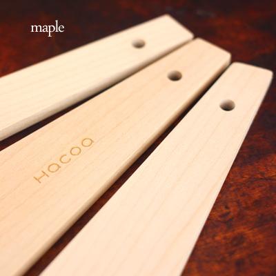 「スパチュラ Sサイズ」メープルの木を使用したバターナイフ・木ベラ/北欧風デザイン