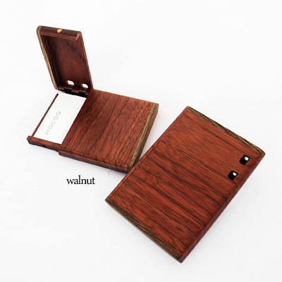 縦型の木製名刺ケース<ササキ工芸ブランド>