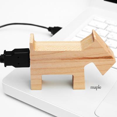 【ネット限定】【16GB】「アニマルUSB」動物のカタチをした木のUSBフラッシュメモリ。名入れしてプレゼントに!/北欧風デザイン