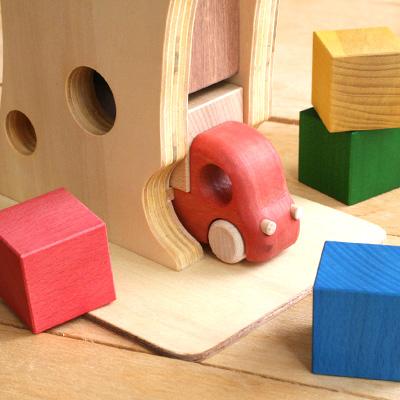 【販売終了】おもちゃのこまーむ 木のおもちゃ、積み荷のつみ木「Tuminy(ツミニー)」 こまむぐ Comomg