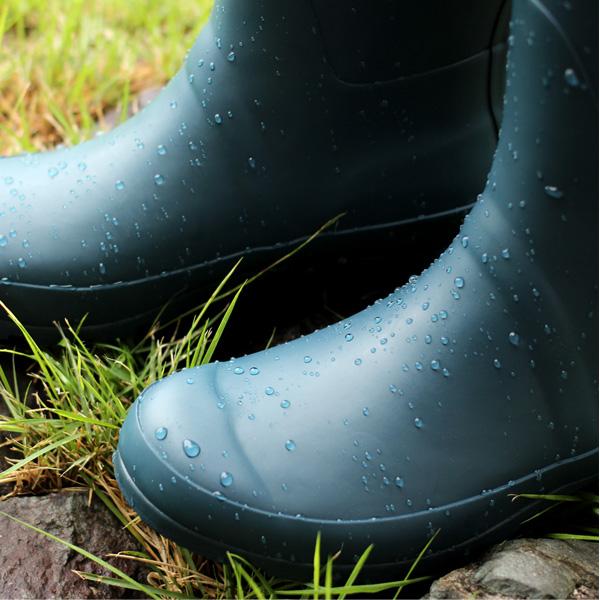 【生産終了】木々のシルエットが足元のコーディネートを引き立てるレインブーツ・レディース用「Forest Rain Boots」