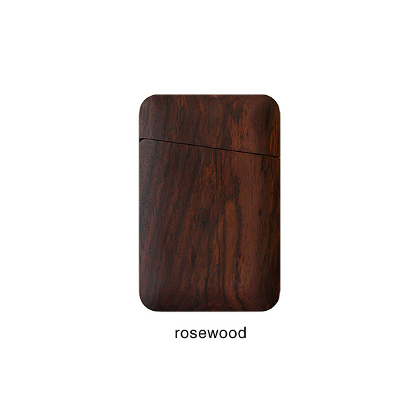 【プレミアム】「Card Case Gentle(ローズウッド)」木製名刺入れ・カードケース/メンズ・レディース兼用/北欧風デザイン