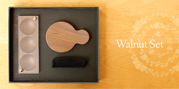 【SALE】【ギフトセット】「Gift Box Jewelry Case & Hand Mirror」母の日・結婚記念日へのプレゼントに、木製ジュエリーケースと手鏡のギフトボックス