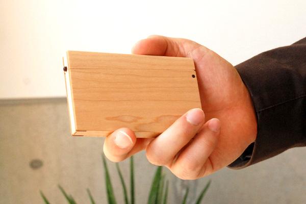 【販売終了】薄型の木製名刺ケース<丹野雅景ブランド>