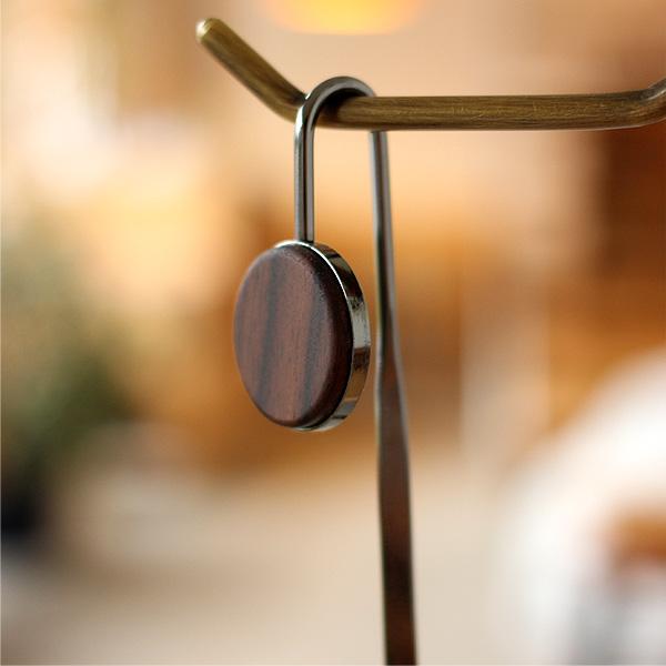 ■「BOOKMARK」金属のボディに銘木をプラスしたブックマーク・しおり/+LUMBERブランド
