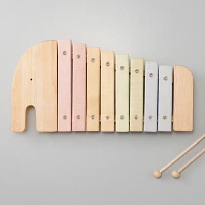 「NIHONシリーズ エレファント シロフォン」日本製にこだわった、やさしい音色の木製シロフォン・木琴