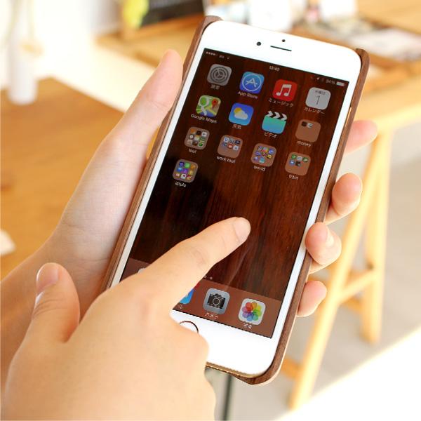 【生産終了】【6Plus】【Hacoa】「Wooden case for iPhone 6 Plus/6s Plus」木製iPhoneケース