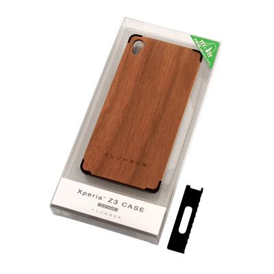 【生産終了】【+LUMBER】 【Xperia Z3】丈夫なハードケースと天然木を融合したXperia Z3専用スマートフォンケース「Xperia Z3 CASE」SO-01G/SOL26/401SO