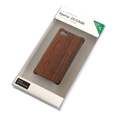 【販売終了】【Z5C】丈夫なハードケースと天然木を融合したXperia Z5 Compact専用木製ケース「Xperia Z5 CASE for Compact」SO-02H