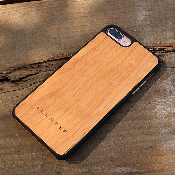 ■【ネット限定】【8Plus/7Plus】「iPhone8Plus/7Plus ALL-AROUND CASE」ハードケースと天然木を融合したiPhone8Plus/7Plus用木製ハードケース【Qi対応】