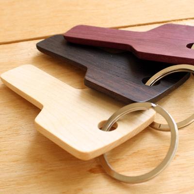 「Key Shoehorn(シューホーン)」木でできたおしゃれなデザインの携帯用靴べら/北欧風デザイン