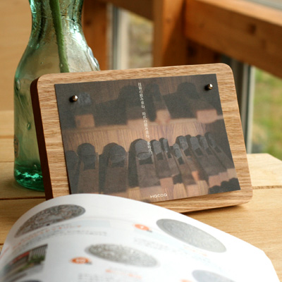 「Pinup Board」メモや写真が自由にレイアウトできる木製ピンナップボード
