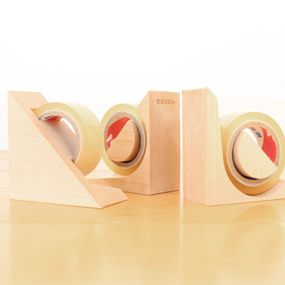 【ネット限定】「kide-kiru」木でできたテープカッター