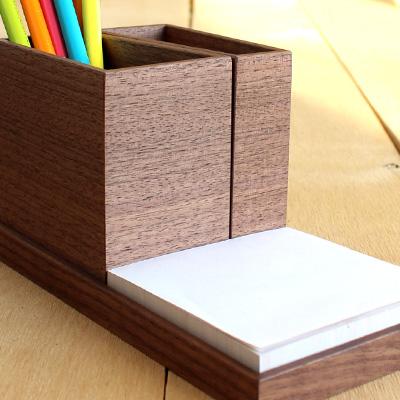 【セット】「Module Tray & Stand セット」木製モジュールペントレイ&ペンスタンドセット/北欧風デザイン