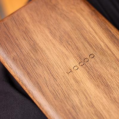 「Solar Battery Calculator」書斎の名脇役、おしゃれな木製のソーラー電卓・計算機/北欧風デザイン