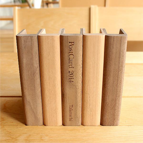 木製ポストカードスタンド「PostCard Stand」