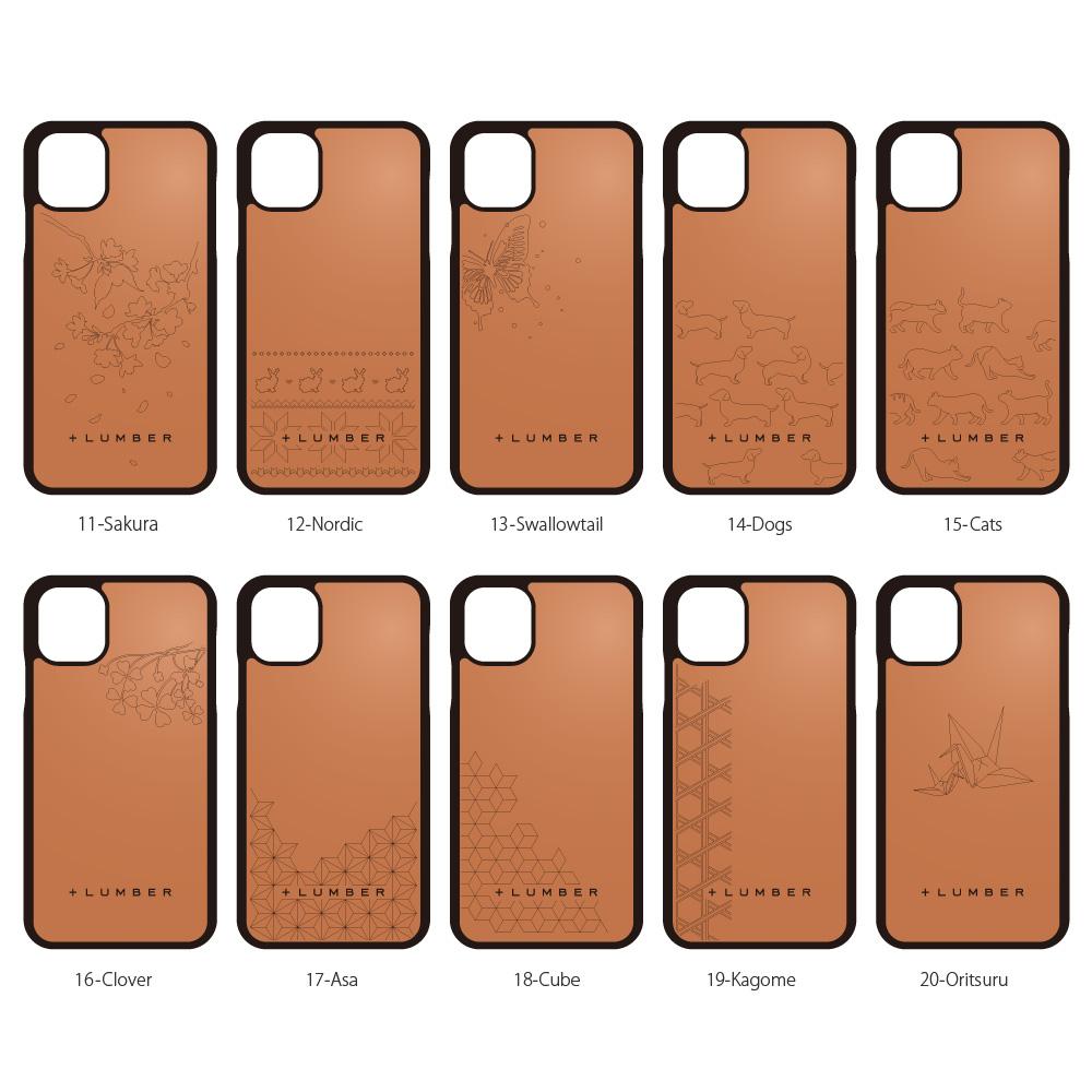 ■【11/XR】「iPhone 11 ALL-AROUND CASE」丈夫なハードケースと天然木をプラスしたiPhone11専用木製アイフォンケース【6.1インチ】【Qi対応】