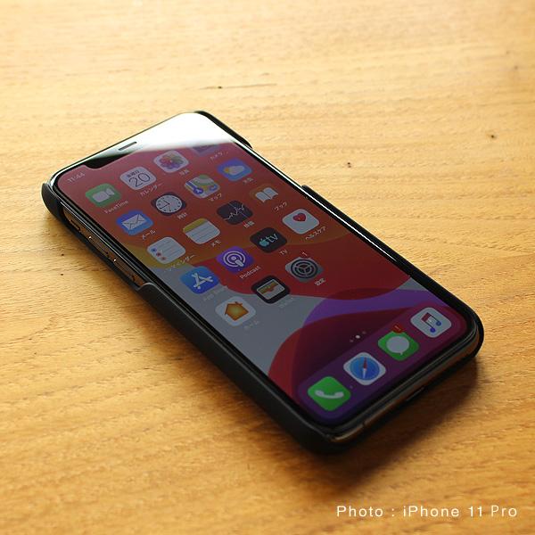 【SALE】【11Pro】【プレミアム】「iPhone 11Pro ALL-AROUND CASE(黒檀)」ハードケースと木をプラス、iPhone11Pro専用木製ケース【5.8インチ】【Qi対応】