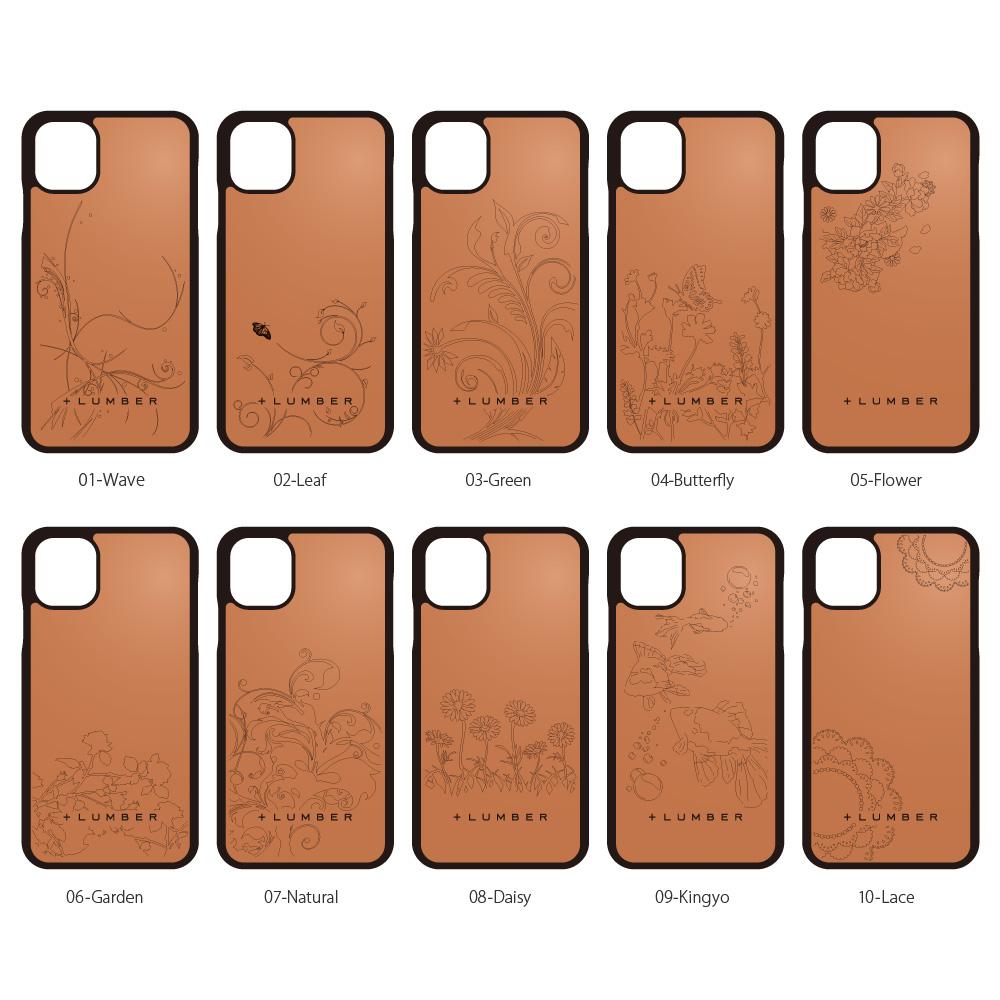 【11】【プレミアム】「iPhone 11 ALL-AROUND CASE(黒檀)」ハードケースと木をプラス、iPhone11専用木製ケース【6.1インチ】【Qi対応】
