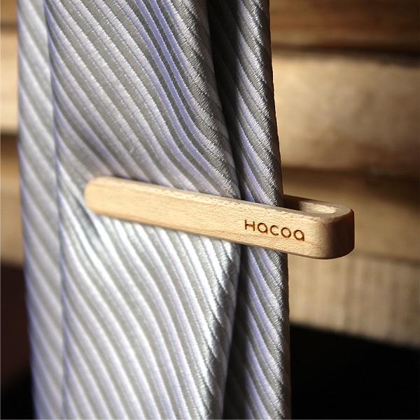 【メープルのみ】「Tie Bar」 本物の木から削り出した芸術品のような木製ネクタイバー・ネクタイピン