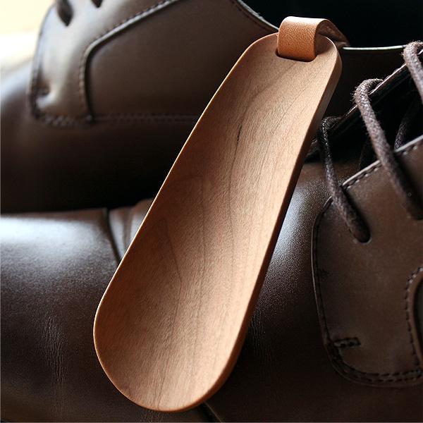 【名入れ可】「Shoehorn Mini」おしゃれな大人へ、木製の携帯靴べら・キーホルダーシューホーン