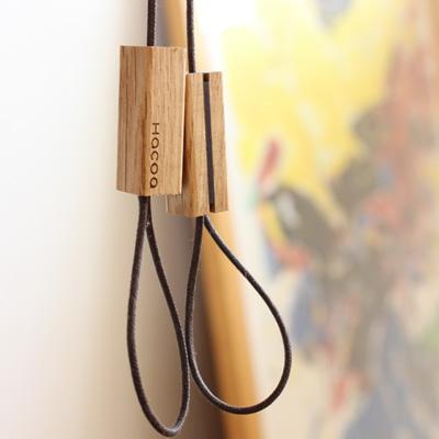 「Tazuna」木製ストラップ/Hacoaブランド/北欧風デザイン