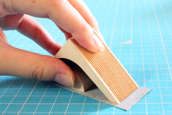 【当店オリジナルMT】木で切るマスキングテープカッター「Ki-de-Kiru MT-tile(木目がつながるテープ)」