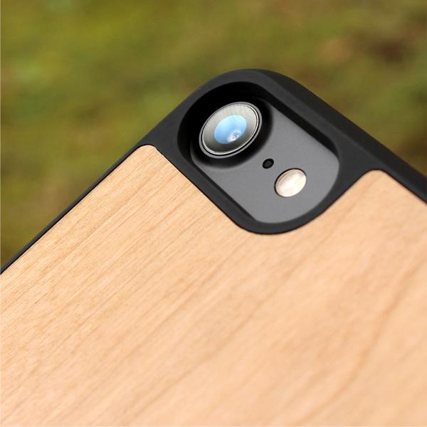【販売終了】■【+LUMBER】【iPhone8/7対応】丈夫なハードケースと天然木を融合したiPhone8/7専用木製ケース「iPhone8/7 ALL-AROUND CASE」【Qi対応】