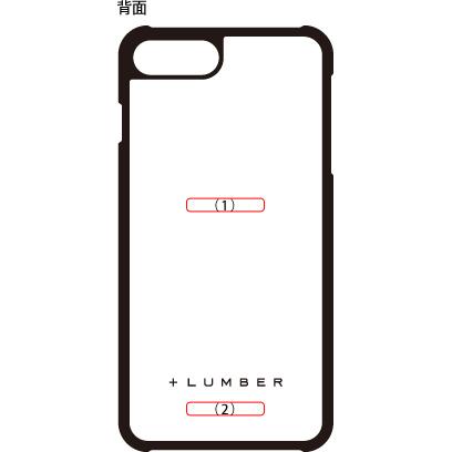 ■【SALE】【8Plus/7Plus】「iPhone8Plus/7Plus ALL-AROUND CASE」ハードケースと天然木を融合したiPhone8Plus/7Plus用木製ハードケース【Qi対応】