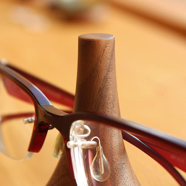 「GlassesStand Swing」大切な眼鏡をおしゃれなインテリアに出来るメガネスタンド/北欧風デザイン/Hacoaブランド