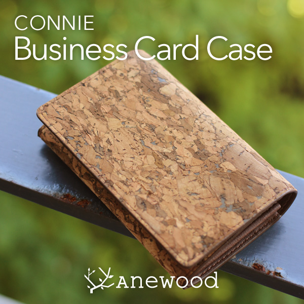 「CONNIE Business Card Case」スムーズな開閉が使いやすい、収納力抜群の名刺入れ・カードケース