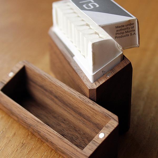 ■【セット】IQOS3/IQOS3 DUO用木製ドアカバー・アイコス ヒートスティック専用木製ケース ギフトセット