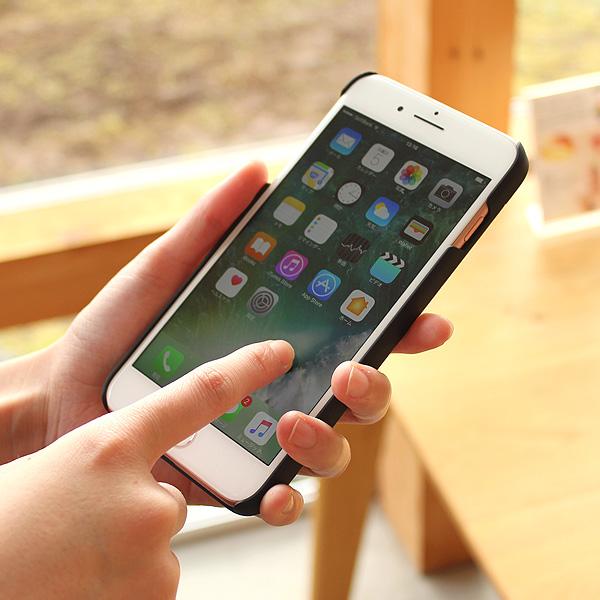 ■【SALE】 【8Plus/7Plus/6Plus】「iPhone Case 8/7/6 PLUS」丈夫なハードケースと天然木を融合したアイフォン専用ハードケース【Qi対応】