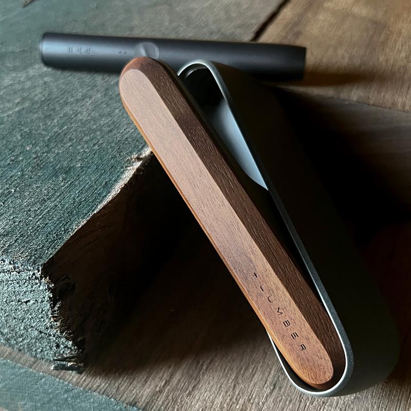 ■「IQOS ILUMA DOOR COVER」おしゃれなIQOSイルマ用木製ドアカバー/アイコスドアパネル・iQOSケース