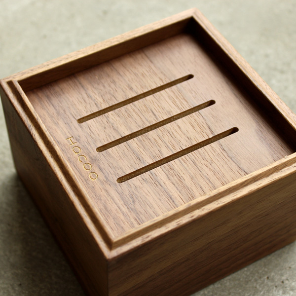 「Stackable Organizers CardHolder Sサイズ」スタッキング可能、大量の名刺・カードを収納できる木製トレイ・トレー