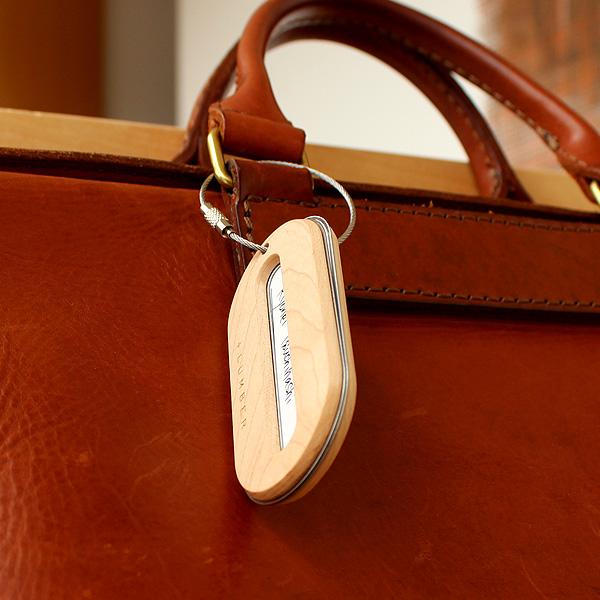 「LUGGAGE TAG」キャリーバッグ・スーツケースの紛失防止におしゃれなラゲージタグ・ネームタグ【+LUMBER】