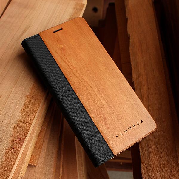 ■【XZ3】「Xperia XZ3 FLIPCASE」木目の美しさを活かした手帳型スマートフォンケース<SO-01L/SOV39/801SO>