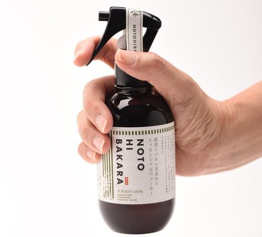 【ヒバ200ml】「NOTOHIBAKARA エッセンシャルウォーター 200ml」能登ヒバから生まれた除菌・除ウイルスエッセンシャルウォーター