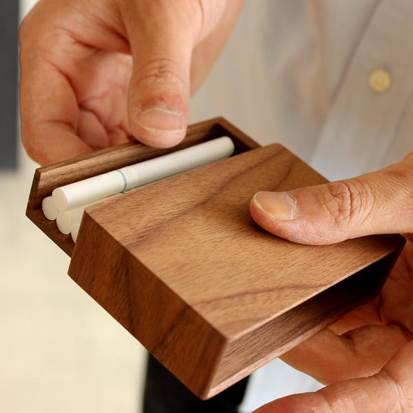 【ネット限定】【レギュラー】「CigaretteCase Regular」高級天然木でできたタバコケース
