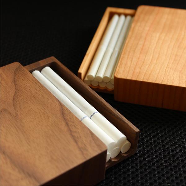 【レギュラー】「CigaretteCase Regular」高級天然木でできたタバコケース
