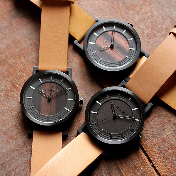 ■【ペア】「WATCH 2200 ギフトセット」ステンレス削り出しケースに銘木を活用した木製腕時計・ペアウォッチ