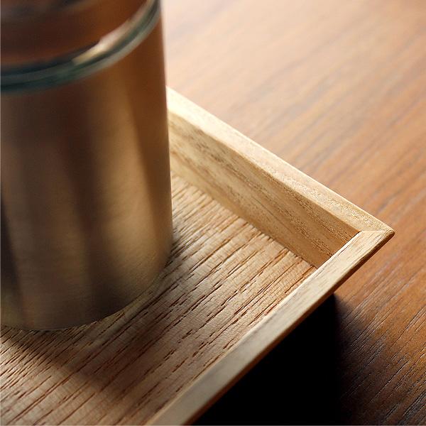 【ネット限定】「3Colors Caster tray」調味料をまとめて収納できる木製カスタートレイ