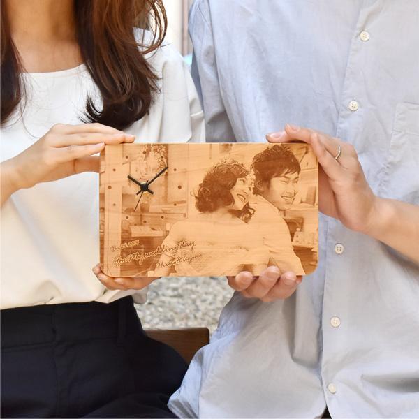 【Mサイズ×商品2点】「メッセージボードクロック」結婚式・ウェディング、両親へ感謝のプレゼント、世界に一つのオリジナル時計
