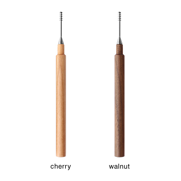 「Ear Cleaner」キャップ付きでいつも清潔な木製耳かきで耳掃除/北欧風デザイン