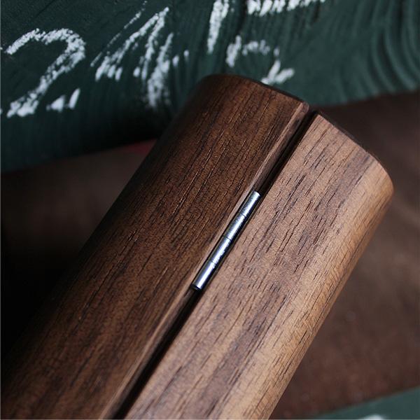 「GlassesCase Classy」木のぬくもりで覆うおしゃれな木製メガネケース/北欧風デザイン/Hacoaブランド