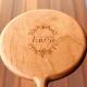「Face Mirror」ハンドミラー・スタンドミラーとして使えるおしゃれな木製手鏡/北欧風デザイン