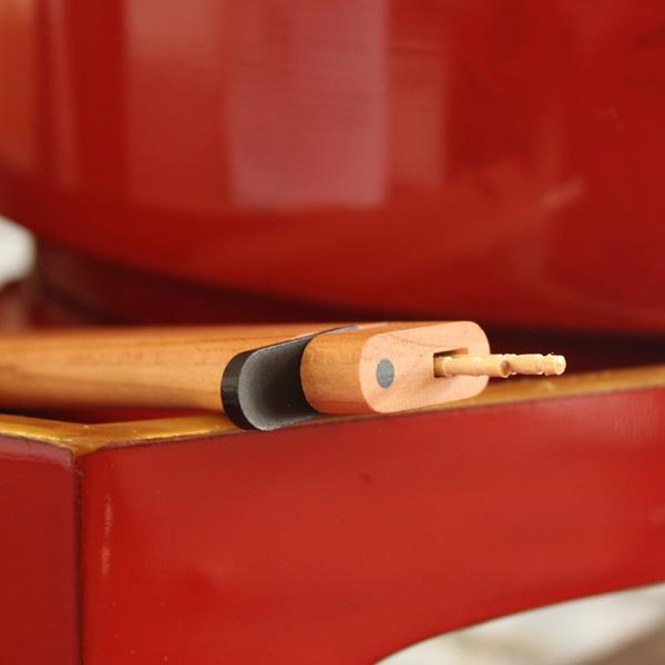 【プレミアム】「Toothpick Holder 黒檀」高級木材を使用、木製の携帯爪楊枝入れ・つまようじケース