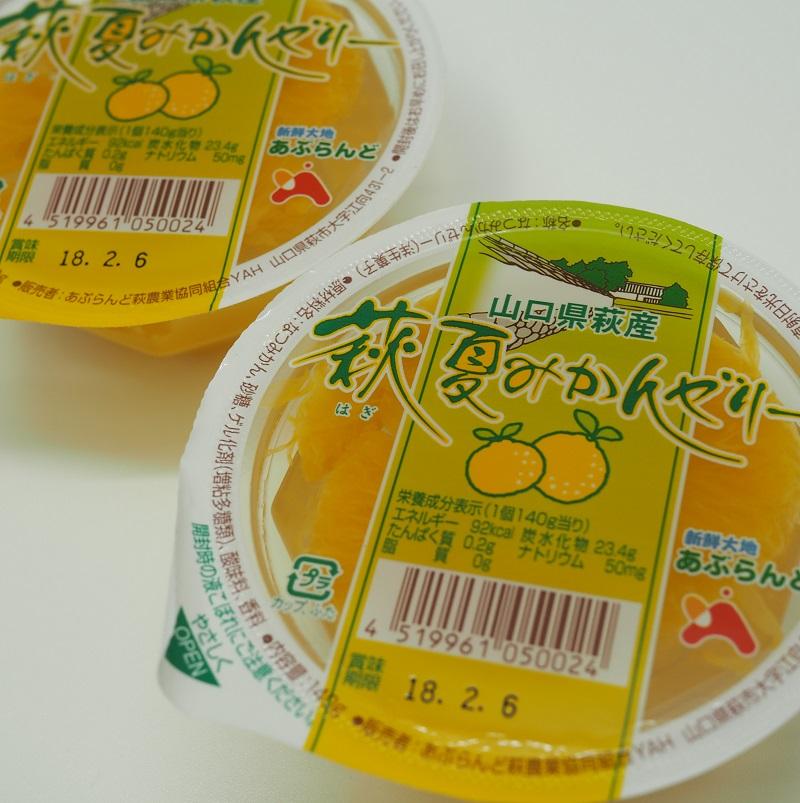 萩の夏みかんゼリー[6個箱入り]