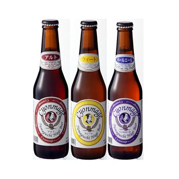 チョンマゲビール3種【12本セット】